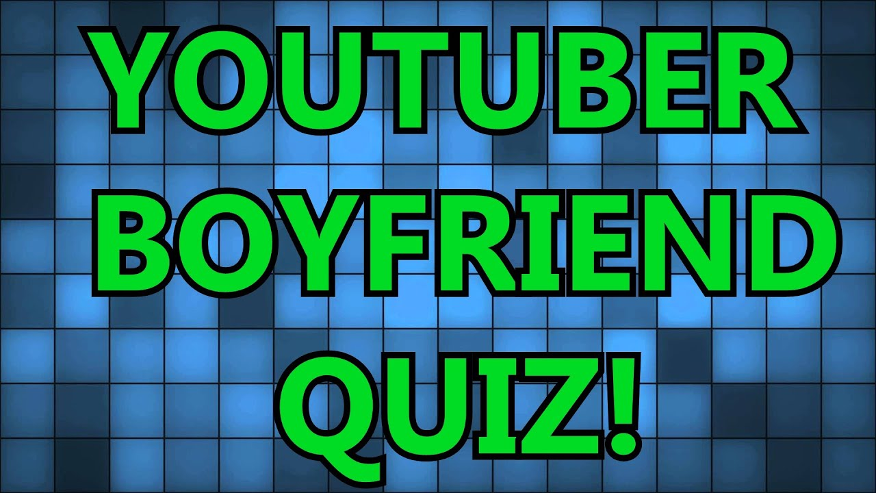 Who is your youtuber quiz