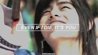 Gambar cover Even If I Die, It's You - V & Jin (BTS) [Traducida Al Español]