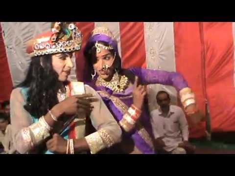 Ni Me Doodh Kade Nal Ridka Chati Cho Madhani Le Gaya Radha Krishna Jhanki Video Song