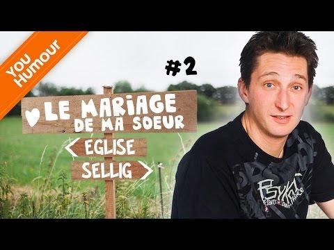 vidéo Sellig humour mariage: sketch comique mariage de ma sœur-2-