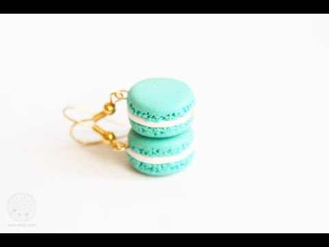 How To Make Miniature Macarons ♥ Polymer Clay Tutorial