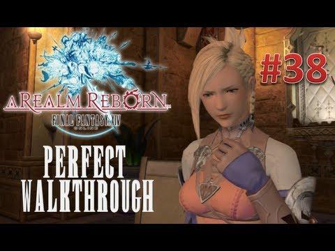 Final Fantasy XIV A Realm Reborn Perfect Walkthrough Part 38 - Getting Own Chocobo Mount