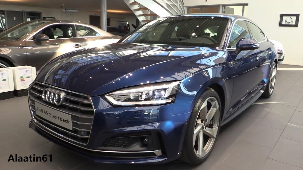 audi a5 sportback 2017 new in depth review interior exterior youtube. Black Bedroom Furniture Sets. Home Design Ideas