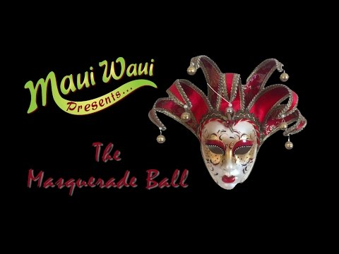 The Maui Waui Masquerade Ball 2014