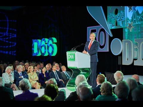Jubileumcongres D66 - Alexander Pechtold