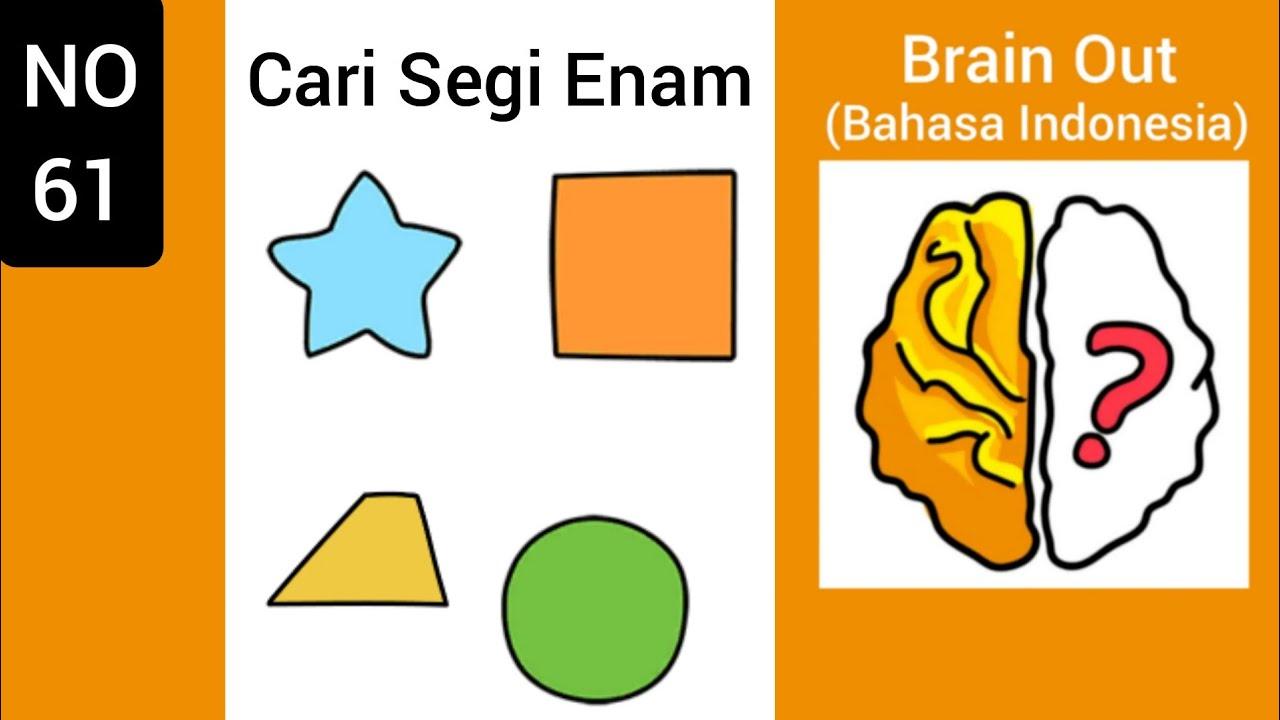 Brain Out Level 61 Cari Segi Enam