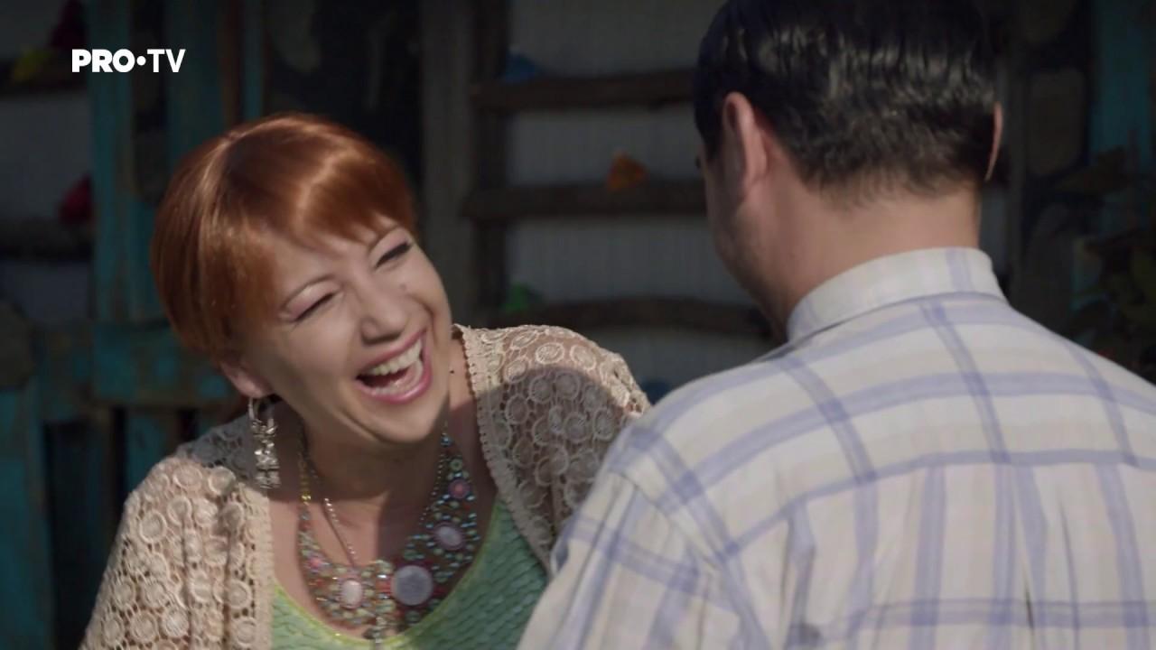 Las Fierbinti - Dorel a lasat-o pe Dalida pe casa fara scara