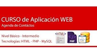 Aplicación Web Agenda