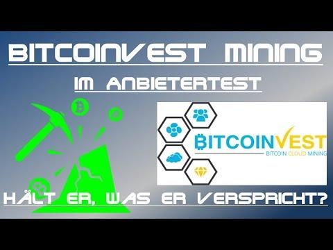 Bitcoinvest - deutscher Cloudmining Anbieter im Test - Lohnt sich das im Vergleich zu Hashflare?
