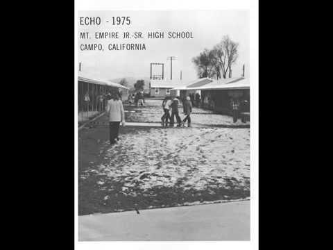 Mountain Empire High School 1975 Echo Yearbook