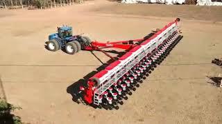 T9 com plantadeira jumil de 60 linhas