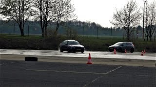 Crazy BMW M5 E39 & Ford Focus RS Trying To Drift!
