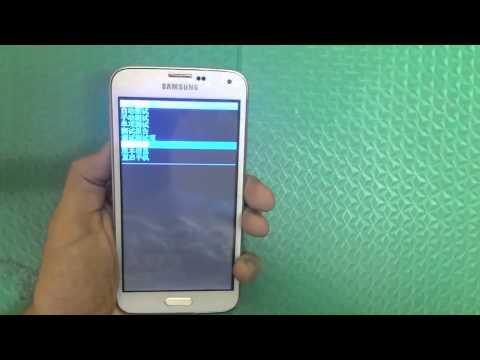 How to Factory Reset Samsung S5 SM-G900H China طريقة عمل فرمت للهواتف اصينية المقلدة