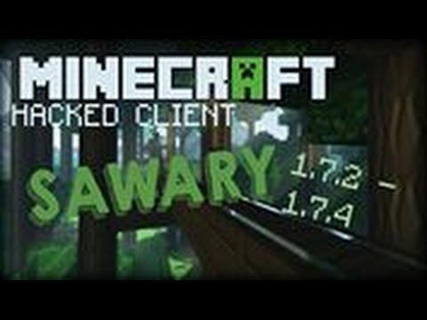Minecraft 1.7.2 - 1.7.5 : Hacked Client - Sawary - The perfect pvp client WITH OPTIFINE ?! [HD]