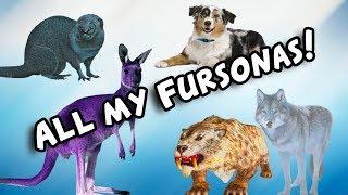 All my fursonas! - Skye's shorts #1