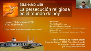 'Religious Persecution Around the World' Tabligh Conference - Spain