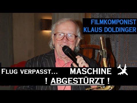 Filmkomponist Klaus Doldinger: Flug verpasst - FLUGZEUG ABGESTÜRZT!