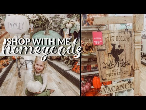 SHOP WITH ME AT HOMEGOODS | FALL DECOR 2019