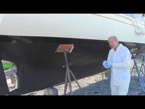 How to barrier coat  and bottom painting boat, Sea Hawk Paints