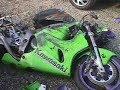 Acidente Kawasaki Ninja 636
