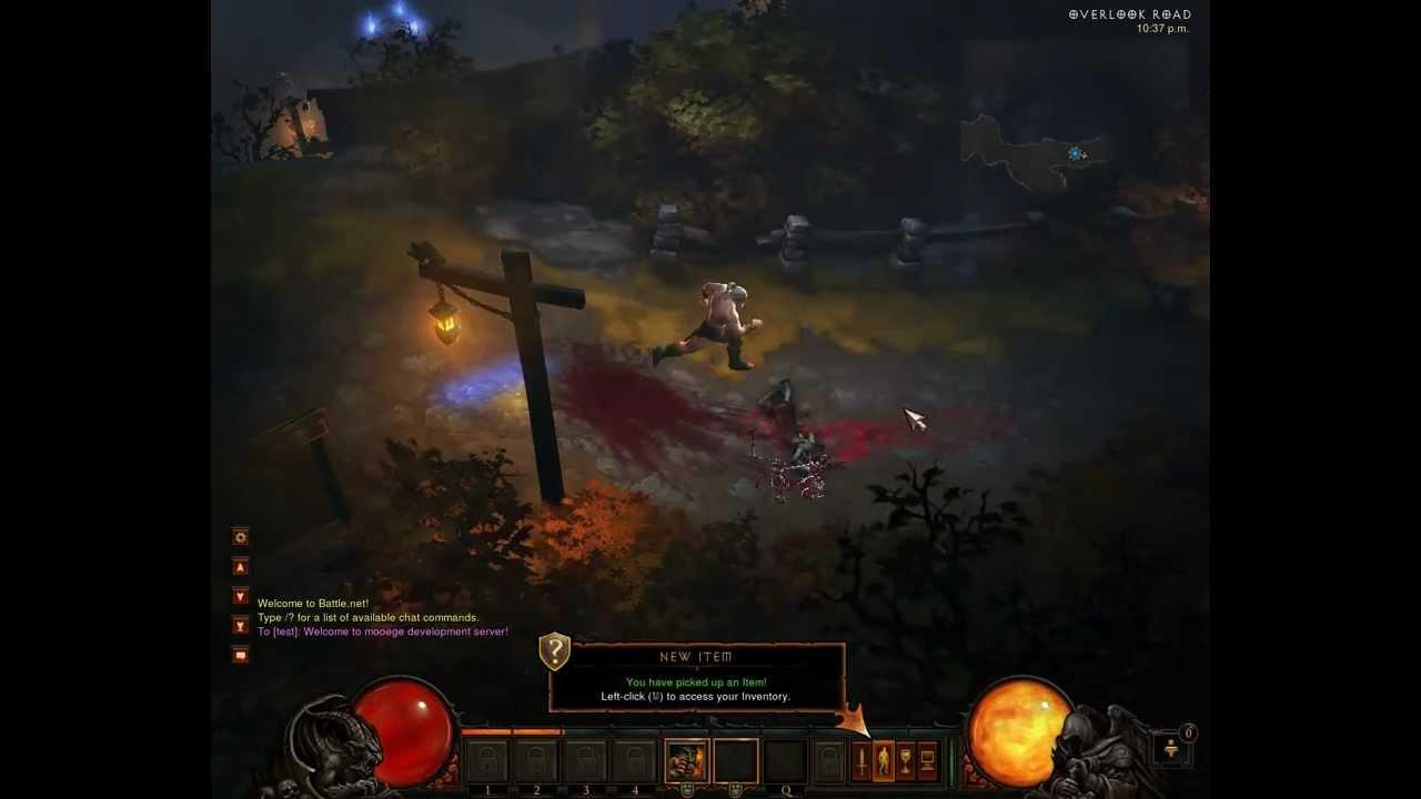 Diablo III + crack - Download - Working - Last Server Emulator v4!! 2012/07/07 - YouTube