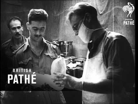 War In Burma - Japanese P.O.W.S (1943)