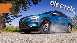 2019 Hyundai Kona Electric   The Compact SUV That Does Zero Emission Burnouts!