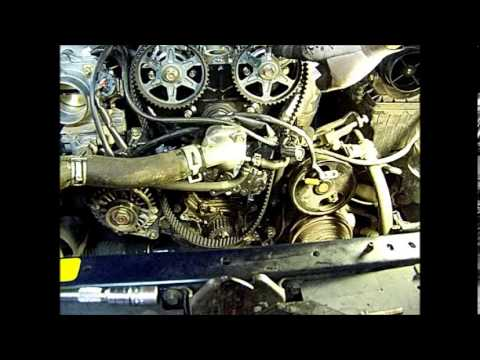 miata timing belt change replacement   youtube