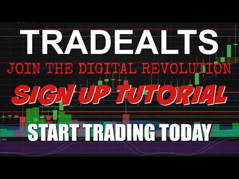 TradeAlts Cryptocurrency Sign Up and Getting Started Tutorial For Beginners