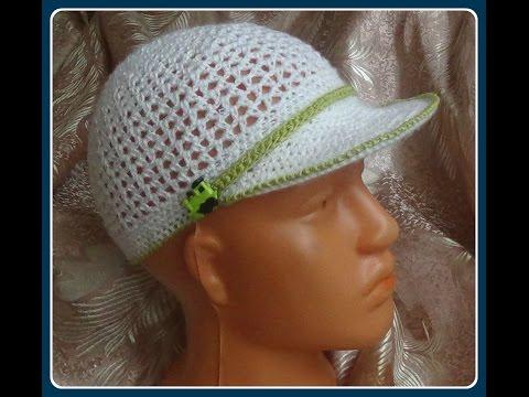 Шляпка крючком crochet knit hat