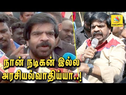 Why I''m always called an Actor : T Rajendar Angry Speech