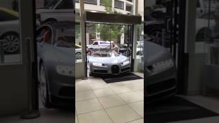 The New Bugatti Chiron exotic car club Chicago