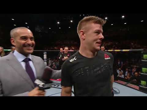 UFC 234: Jimmy Crute Octagon Interview