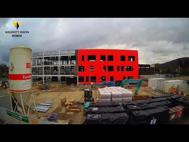 CAHS - New Build Time Lapse Video (April 2021)