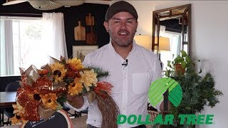 How To Make A Fall Wreath 2019 ( with dollar tree items )