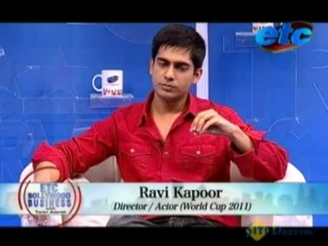 Ravi Kapoor on his debut with World Cupp 2011.