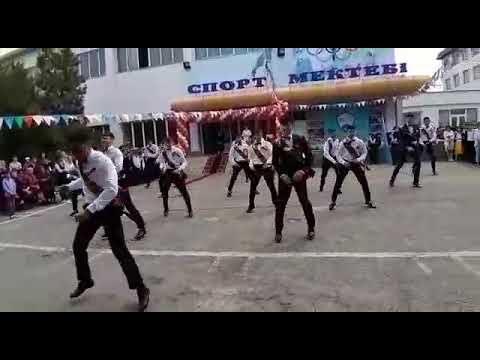 Выпусной 2019. Спортсмены. Флешмоб года. Спорт школа#казахстан#митинг#елбасы#спорт#танец#алматы