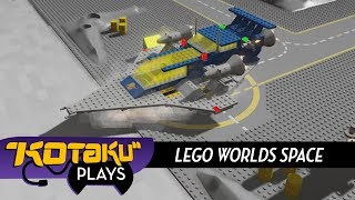 Kotaku Plays With Lego Worlds' Classic Space Expansion
