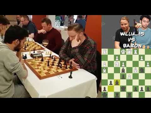 Live Chess Blitz Games #1 - Simon Williams vs Tal Baron