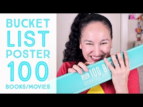 Scratch Off Poster CHALLENGE (100 Books to Read/100 Movies to Watch)