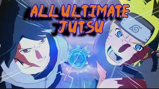Naruto Ultimate Ninja Storm Revolution: All Ultimate Jutsu English Dub
