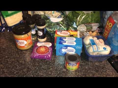 Weekly Grocery Haul  ||  Meal Plan  || 2 Stores  ||  Walmart and Harris Teeter