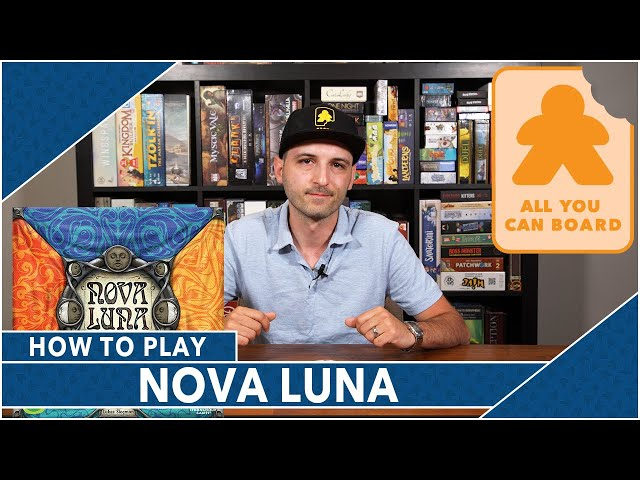 Nova Luna: How to Play by AYCB (2020 Spiel des Jahres Nominee)