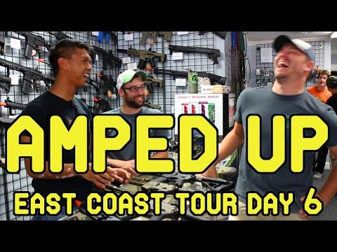 East Coast Tour Day 6: Amped Up! (Amped Airsoft)