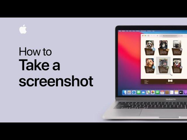 Vidéo Apple: comment faire une capture d'écran avec votre Mac