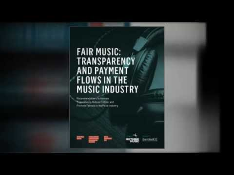 Fair Music Transparency and Money Flows in the Music Industry