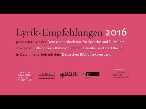 Lyrik-Empfehlungen : Volker Sielaff Michael Braun