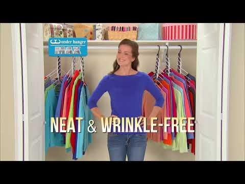 Wonder Hanger Max As Seen On Tv Youtube