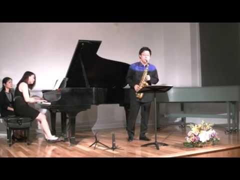 Paul Creston Sonata for Alto Saxophone and Piano Op.19 - Wonki Lee