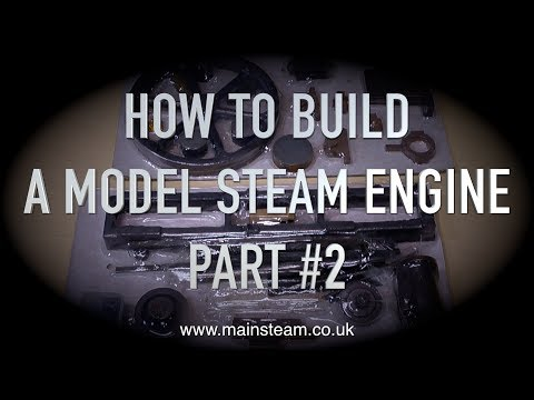 HOW TO BUILD A MODEL STEAM ENGINE - STUART MODELS VICTORIA - PART #2 - MAKING THE BED